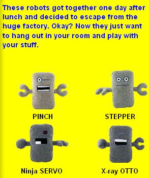 Hug Robot Plush BunkBots Toy